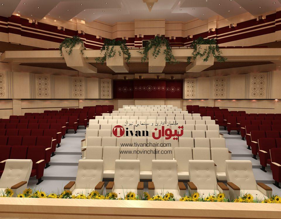 طراحی و اجرای سالن آمفی تئاتر پیام نور استان البرز