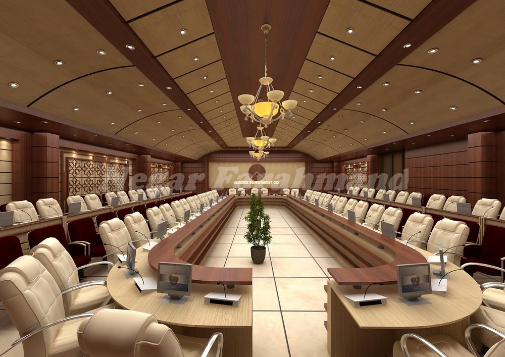 طراحی و تولید صندلی کنفرانس