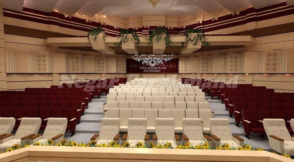 طراحی و اجرای سالن های آمفی تئاتر