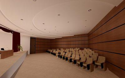 طراحی و اجرای آمفی تئاتر